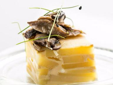 Cheese & Mixed Mushroom Tortilla | RECIPE
