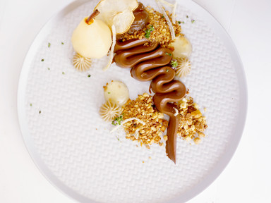 PEARS, CHOCOLATE & CHESTNUTS