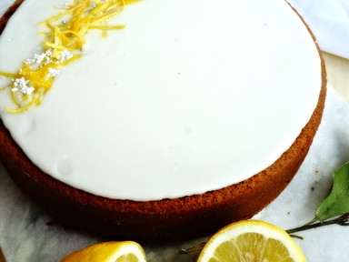 Danish Lemon & Almond Cake | RECIPE