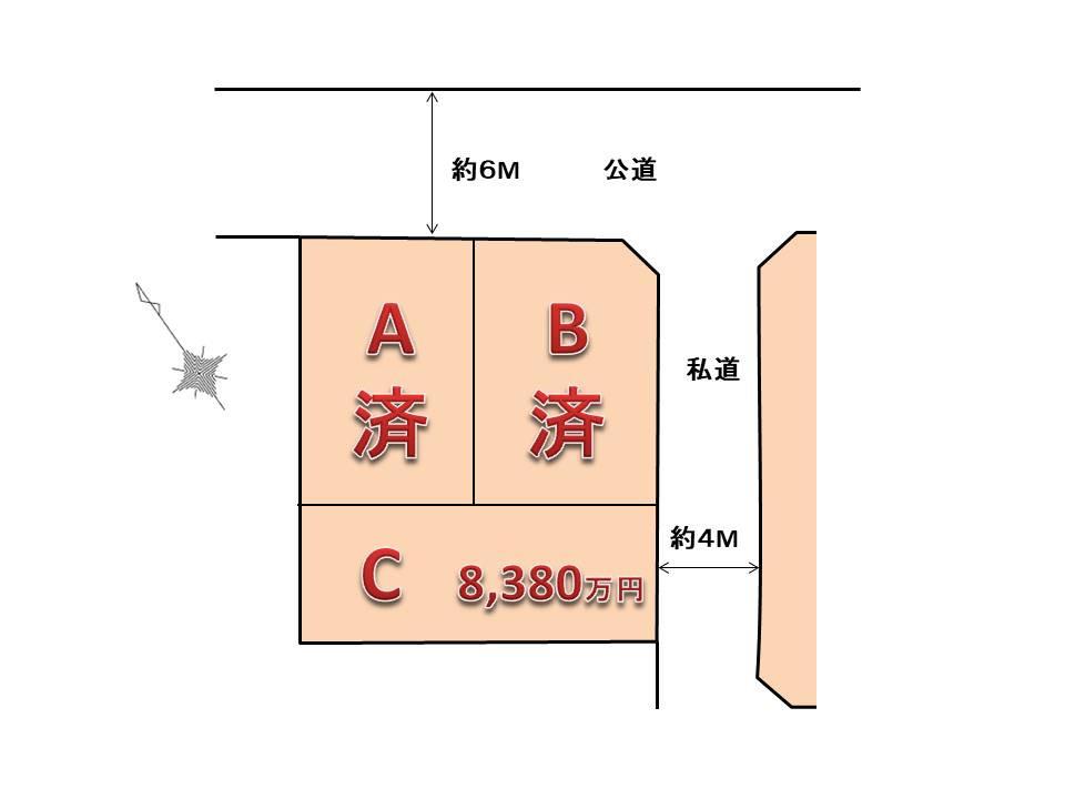 弦巻2丁目 区画図.jpg