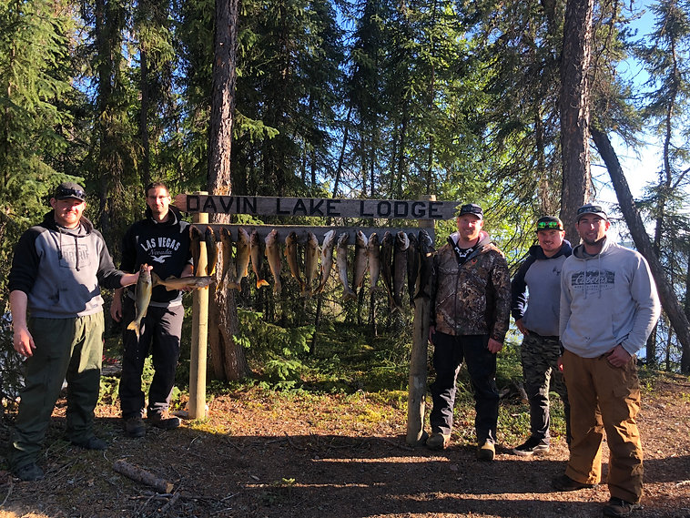 Walleye and Trout Boys trip to fishing camp