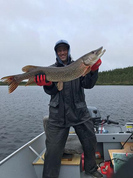 Trophy Pike-Davin Lake Fishing Lodge