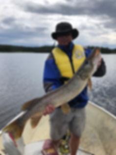 Trophy Pike Wathaman Lake