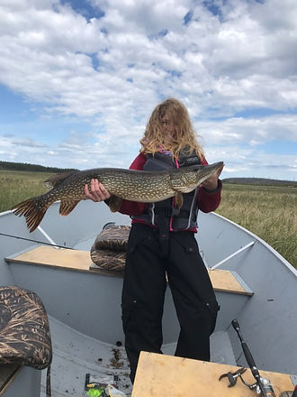 Trophy Pike kid