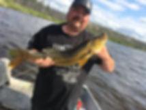 Trophy Walleye 28 inch