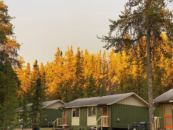 Davin Lake Fishing Lodge Cabins