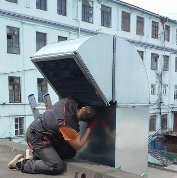 вентиляция покрасочной камеры в Коломне