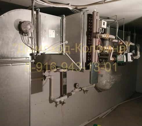 водяной нагреватель приточной вентиляции