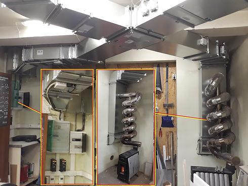 приточно-вытяжная вентиляция с рекуператором