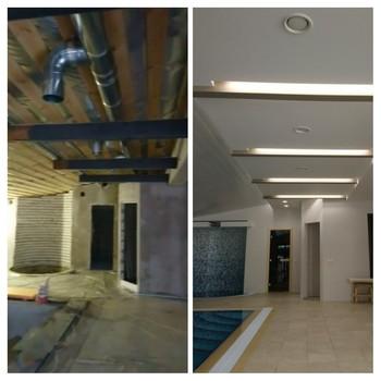вентиляция бассейна частного жилого дома в Коломне