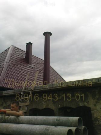 вытяжная труба для газовой топочной жило