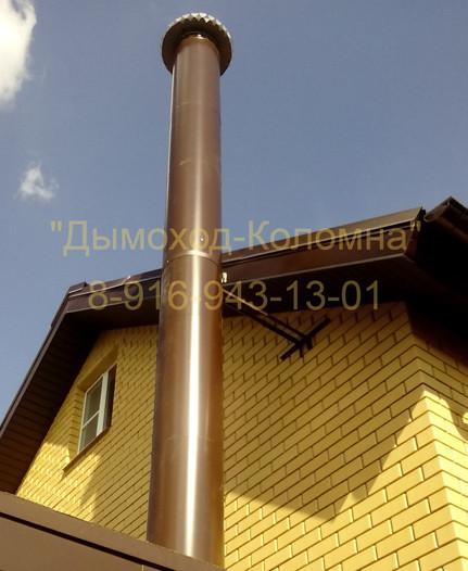вытяжная труба при газификации дома