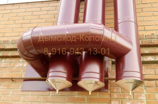 вытяжные трубы от газового оборудования