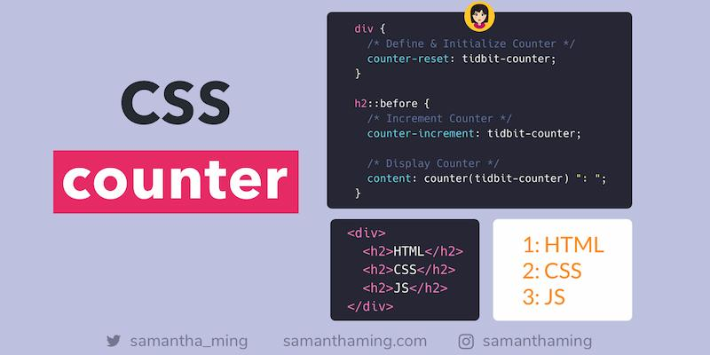 A Guide to CSS counter.