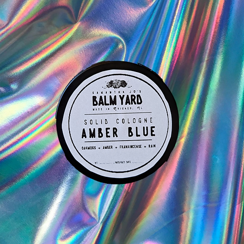 Amber Blue Solid Cologne