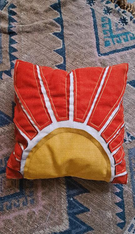 Grand Rising Throw Pillow