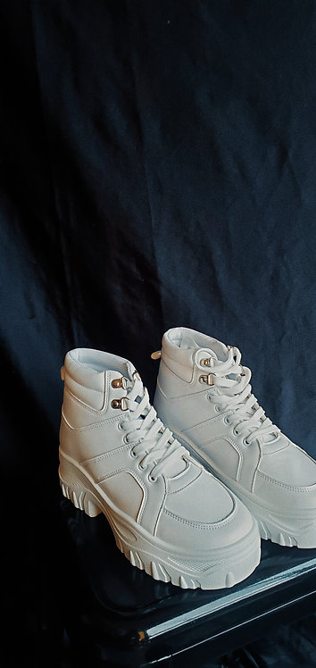 Platform Sneakers - Size 7