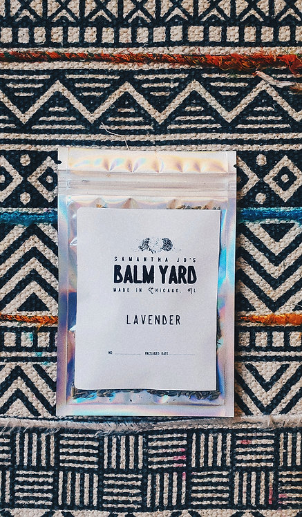 Lavender Herb Bag