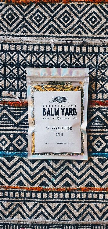 Bitter Herb Bath