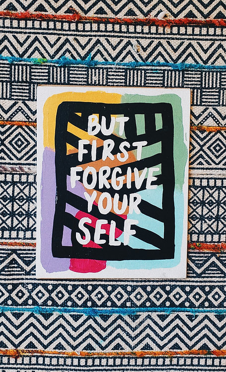 Forgive Yourself Canvas