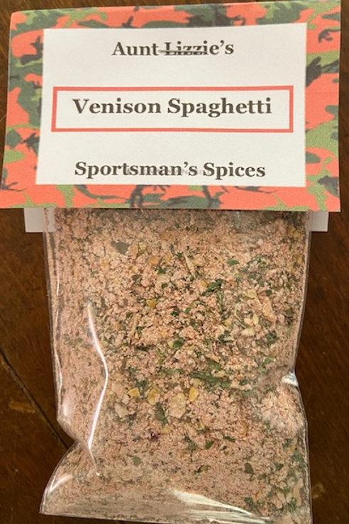 Venison Spaghetti