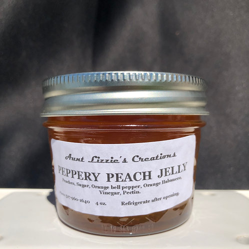 Peppery Peach Jelly
