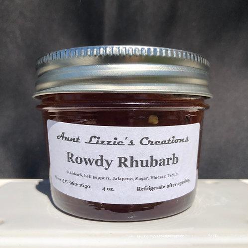 Rowdy Rhubarb