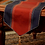 Thumbnail: Wine & Royal Blue Silk Table Runner