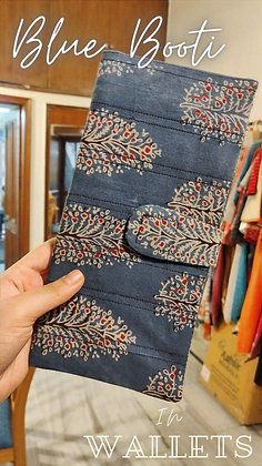 Blue Booti Wallet