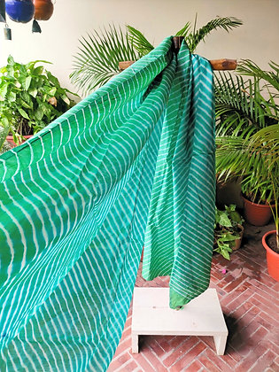 Green Leheriya Chunri