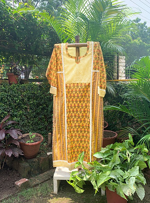 Sunflower Field Kurta