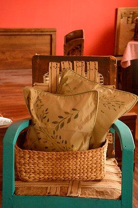 Handpainted Cushion Cover Set