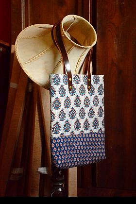 Hand Block Printed Tote Bag