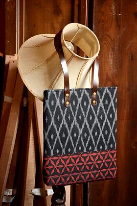 Black & Rust Tote Bag