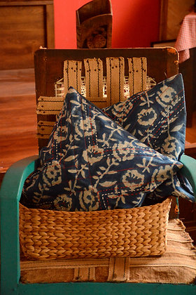 Indigo Cushion Cover Set
