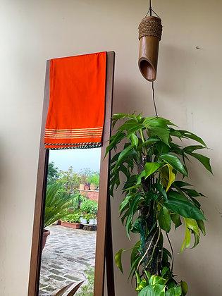 Orange Gota-Work Cotton Lower