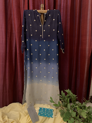 Midnight Sky Kurta