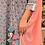 Thumbnail: Pink Rose & Sky Kurta Set