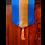 Thumbnail: Gold & Blue Silk Table Runner
