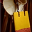 Thumbnail: Mustard & Maroon Tote Bag