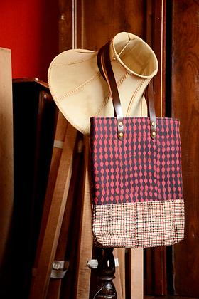 Rust Pattern Tote Bag