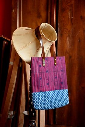Purple & Indigo Tote Bag