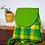 Thumbnail: Parrot Green Checks Bagpack