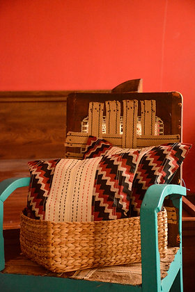 Red & Black Cushion Cover Set