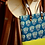 Thumbnail: Lime Green & Blue Tote Bag