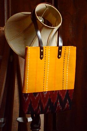 Bright Yellow Tote Bag