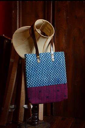 Indigo & Purple Tote Bag