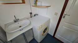 Fonteintje en wasmachine