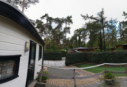 Chalet en tuin