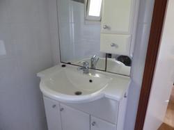 Fonteintje in de badkamer